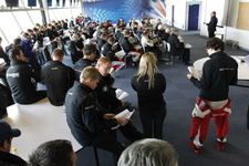 20111009 BES Silverstone 00 Drivers Briefing a059