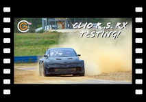 Putting the Clio R.S. RX through its paces! ????